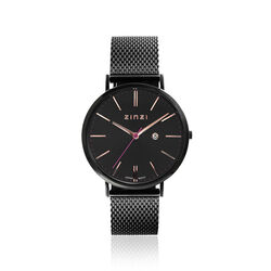 Zinzi Retro Horloge Gezwart Ziw409m