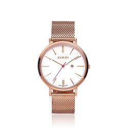 Zinzi Retro Horloge Rose Ziw408m