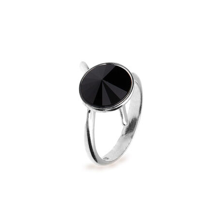 Spark Zilveren Sweet Candy Ring Black