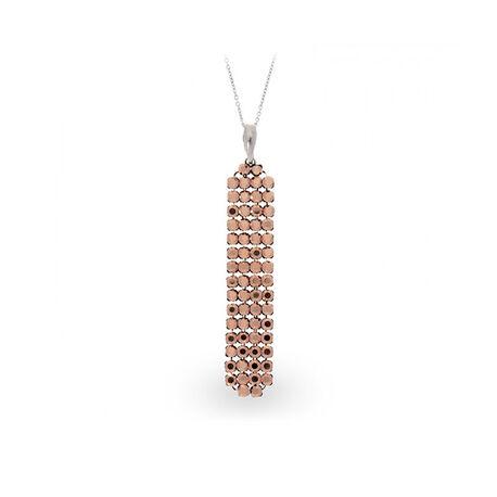 Zilver hanger Classy roségold Spark