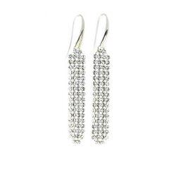 Spark Zilveren Classy Earrings Crystal