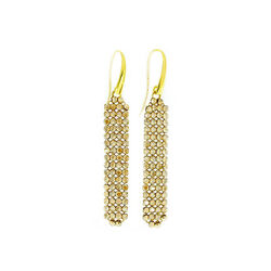Spark Zilveren Classy Earrings Golden Shadow