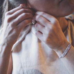 Spark Zilveren Classy Necklace Aurore Boreale
