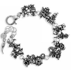 Zilveren sprookjesfiguren armband van Giovanni Raspini