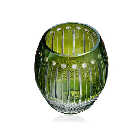 Fabergé groen kristallen vaas uit de Hermitage collectie