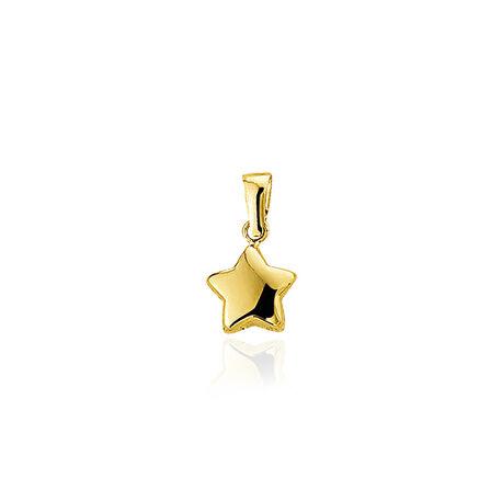 gouden hanger of bedel ster