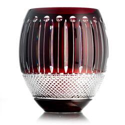 rode kristallen vaas van Fabergé uit de Hermitage collectie