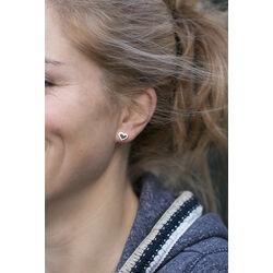 Gouden oorstekers hart van Zinzi