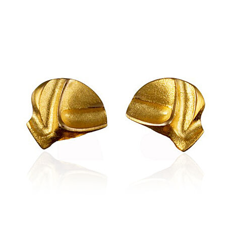 Gouden oorstekers Mini Aida Lapponia