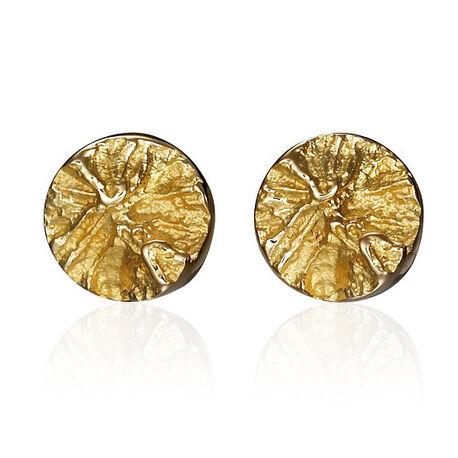 Gouden oorbellen Lapponia Swirls