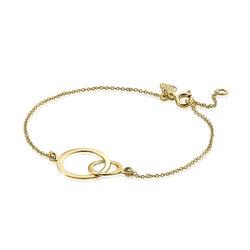 Zinzi gouden armband ronde vormen ZGA113