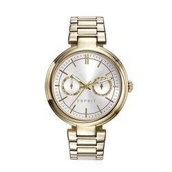 Esprit verguld stalen elegant horloge