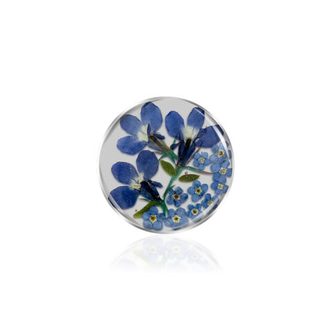 Flora Blue insignia 24mm MY iMenso 241329