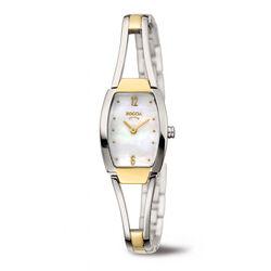 Boccia titanium dames horloge vergulde accenten 3262-02