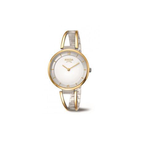 Boccia titanium horloge bicolor 3260-02