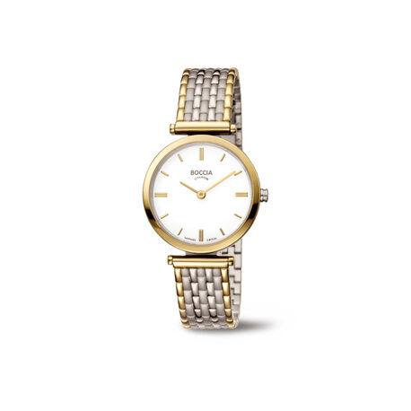 Boccia titanium dames horloge bicolor 3253-05