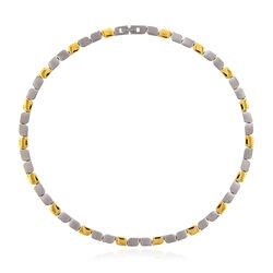 Titanium ketting Boccia bicolor 08003 02