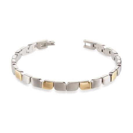 titanium armband bicolor Tulp 03007 02 Boccia