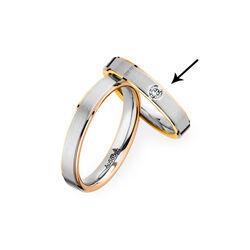 Christian Bauer gouden ring briljant