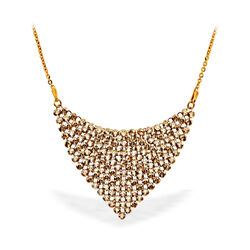 Spark verguld zilverenChic necklace Golden Shadow