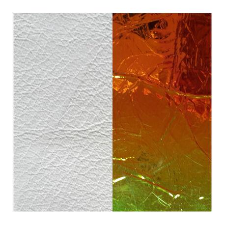 Les Georgettes 40 mm leertje wit multicolor