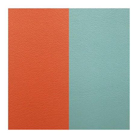Les Georgettes 40 mm leertje oranje turquoise