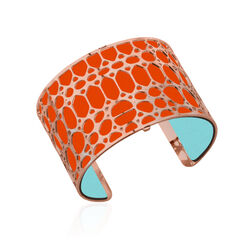 Les Georgettes 40 mm leertje oranje turquoise