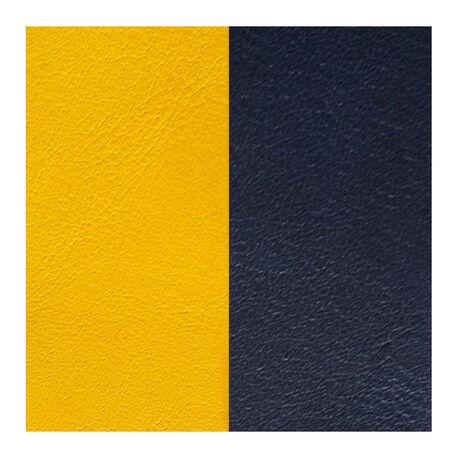 Les Georgettes 40 mm leertje zongeel en donkerblauw