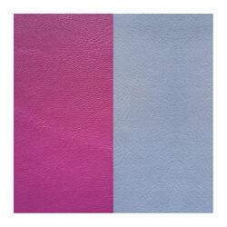 Les Georgettes 25 mm leertje paars en ijs blauw