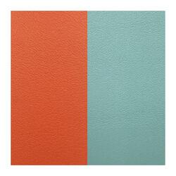 Les Georgettes 14 mm leertje oranje turquoise