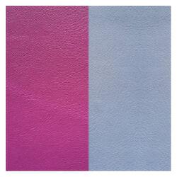 Les Georgettes 14 mm leertje paars en ijs blauw