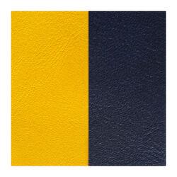 Les Georgettes 14 mm leertje zongeel en donkerblauw
