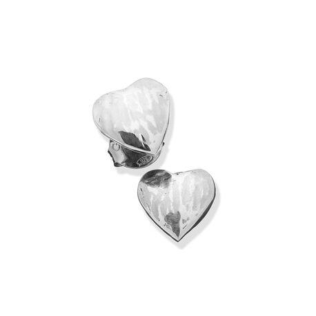 Zilver oorbellen hartje van Raspini
