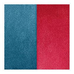 Les Georgettes 25 mm leertje petroleum blauw en framboos