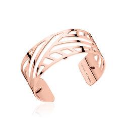 Roséverguld stalen armband Ruban Les Georgettes