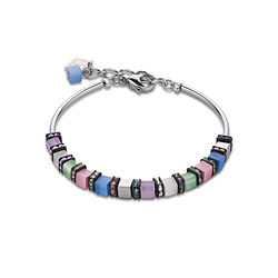 Coeur de Lion armband multicolour pastell romantic 4031-30-1558