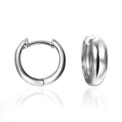 Esprit zilveren basiscreolen ESCO91693A000