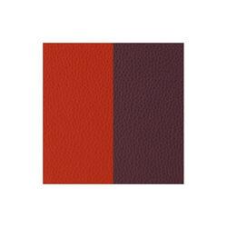 Les Georgettes 25 mm leertje oranje en bruin