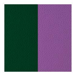 Les Georgettes 25 mm leertje paars en donker groen