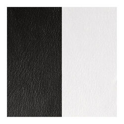 Zwart wit leertje 14 mm Les Georgettes
