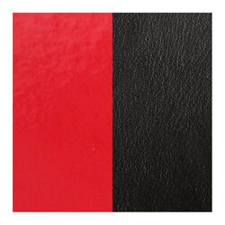 Les Georgettes 14 mm leertje rood en zwart