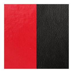 Les Georgettes 25 mm leertje zwart en rood