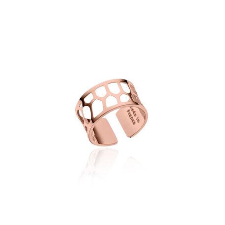 Rosé verguld stalen ring Nid D abeille