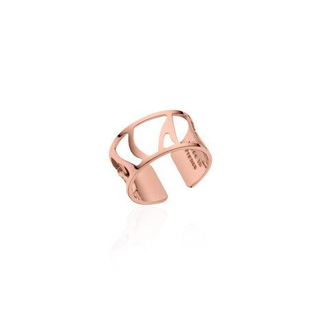 Rosé verguld stalen ring Perroquet