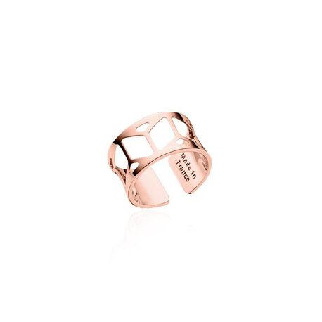 Rosé verguld stalen ring Resille