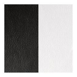 Les Georgettes 12 mm leertje zwart en wit