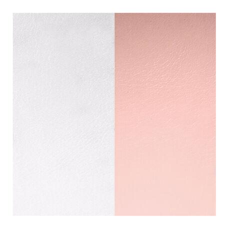 Inleg leertje Les Georgettes ring roze grijs