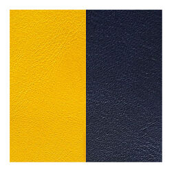 Les Georgettes 12 mm leertje zongeel en donker blauw