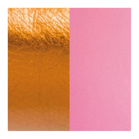 Les Georgettes 14 mm leertje koraal en metallic oranje