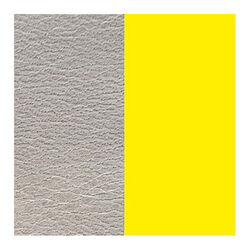 Les Georgettes 14 mm leertje grijs en fluoriserend geel